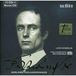"Complete Recordings ""Rias"" of Wilhelm FURTWÄNGLER.  Live in Berlin."