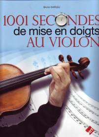 1001 secondes de mise en doigts au violon.