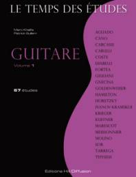 Le temps des études : Guitare, vol. 1.