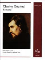 Charles GOUNOD : Fernand