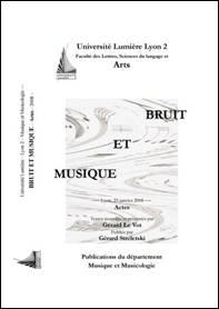 Actes du colloque de Lyon (23 janvier 2008)