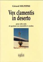 Gérard HILPIPRE : Vox clamentis in deserto