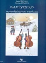 Balades en duo. 11 pièces faciles pour 2 contrebasses