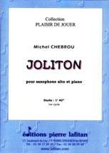 Joliton pour saxophone alto et piano