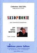 Saxophonie pour ensemble de saxophones