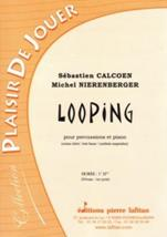 Looping pour percussions et piano