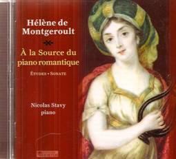 Hélène de MONTGEROULT (1764-1836) : À la source du piano romantique.
