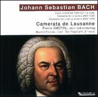 Johann Sebastian BACH : Concerto pour deux violons BWV 1043