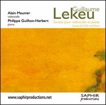 Guillaume LEKEU (1870-1894) : Sonate pour violoncelle et piano (1888).