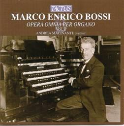 Marco Enrico BOSSI : Opera omnia per organo.  Vol. I.