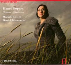 Henri DUPARC : Complete Melodies.