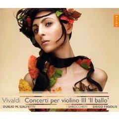 Antonio VIVALDI : Concerti per violino III « Il ballo »