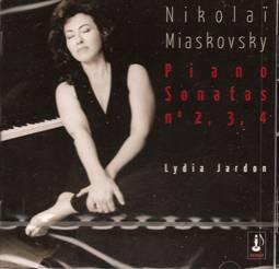 Nikolaï MIASKOVSKY : Sonates n°2, 3 et 4