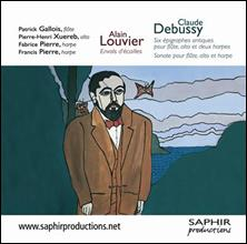 Claude DEBUSSY : Sonate pour flûte, alto & harpe.
