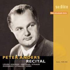 Peter ANDERS : Récital.