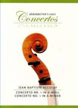 Jean-Baptiste ACCOLAY : Concerto n°1