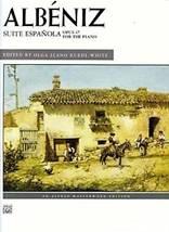 Isaac ALBÉNIZ : Suite espagnole op. 47 pour piano