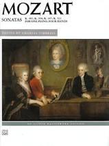Wolfgang Amadé MOZART : Sonatas K. 381, 358, 497, 521
