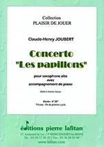 Claude-Henry JOUBERT : Concerto « Les papillons »