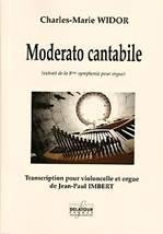 Charles-Marie WIDOR : Moderato cantabile  extrait de la 6ème symphonie pour orgue