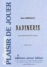 Max MÉREAUX : Badinerie pour clarinette