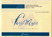 Grande sonate pathétique pour le clavecin ou le pianoforte.