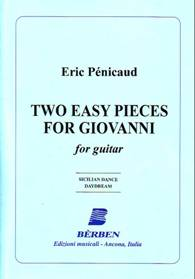Two easy pieces for Giovanni : Sicilian Dance / Daydream