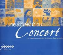 Raymond MESPLÉ (Coordonné par) : Une année au concert.