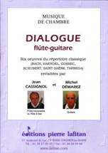 Dialogue flûte-guitare.