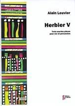 Alain LOUVIER : Herbier V.