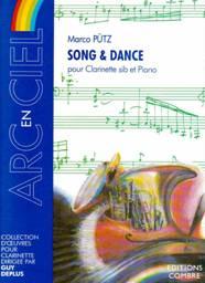 Marco PÜTZ : Song & Dance pour clarinette sib & piano