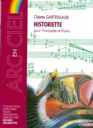 Odette GARTENLAUB : Historiette pour trompette & piano. Combre : C06631.