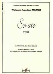 Wolfgang Amadeus MOZART : Sonate KV292
