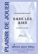 Christine MARTY-LEJON : Dans les airs pour flûte et piano