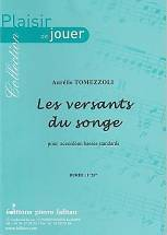 Les versants du songe  pour accordéon basses standards