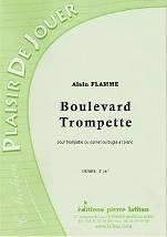 Boulevard Trompette  pour trompette ou cornet ou bugle et piano.