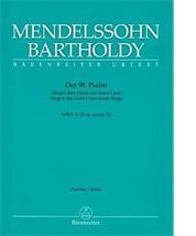 Félix MENDELSSOHN-BARTHOLDY : Der 98. Psalm.