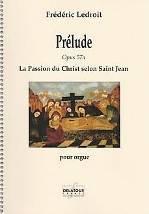 Frédéric LEDROIT : Prélude.