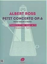 Albert ROSS : Petit concerto