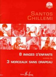 Santos CHILLEMI : 8 images d'enfants – 3 morceaux sans drapeau.