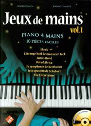 Jeux de mains. Vol. 1. Piano à quatre mains.