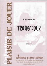 Troubadour pour guitare.