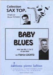Baby blues pour quatuor de saxophones (3 altos, 1 ténor)