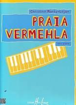 Christine MARTY-LEJON : Praia Vermehlapour piano.