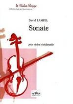 David LAMPEL : Sonate pour violon et violoncelle