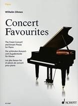 Wilhelm OHMEN : Concert Favourites.  Les plus beaux bis et pièces de concert pour piano. Schott : ED 21827.