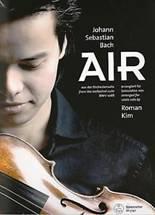 Jean-Sébastien BACH : Air  de la suite d'orchestre BWV1068 arrangé pour violon seul par Roman Kim. Bärenreiter : BA 5140.