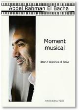 Moment musical pour 2 sopranos et piano