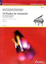 MOSZKOWSKI : 15 études de virtuosité