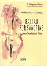 Rodolphe AUGUSTE-DORMEUIL : Ballad for Sandrine